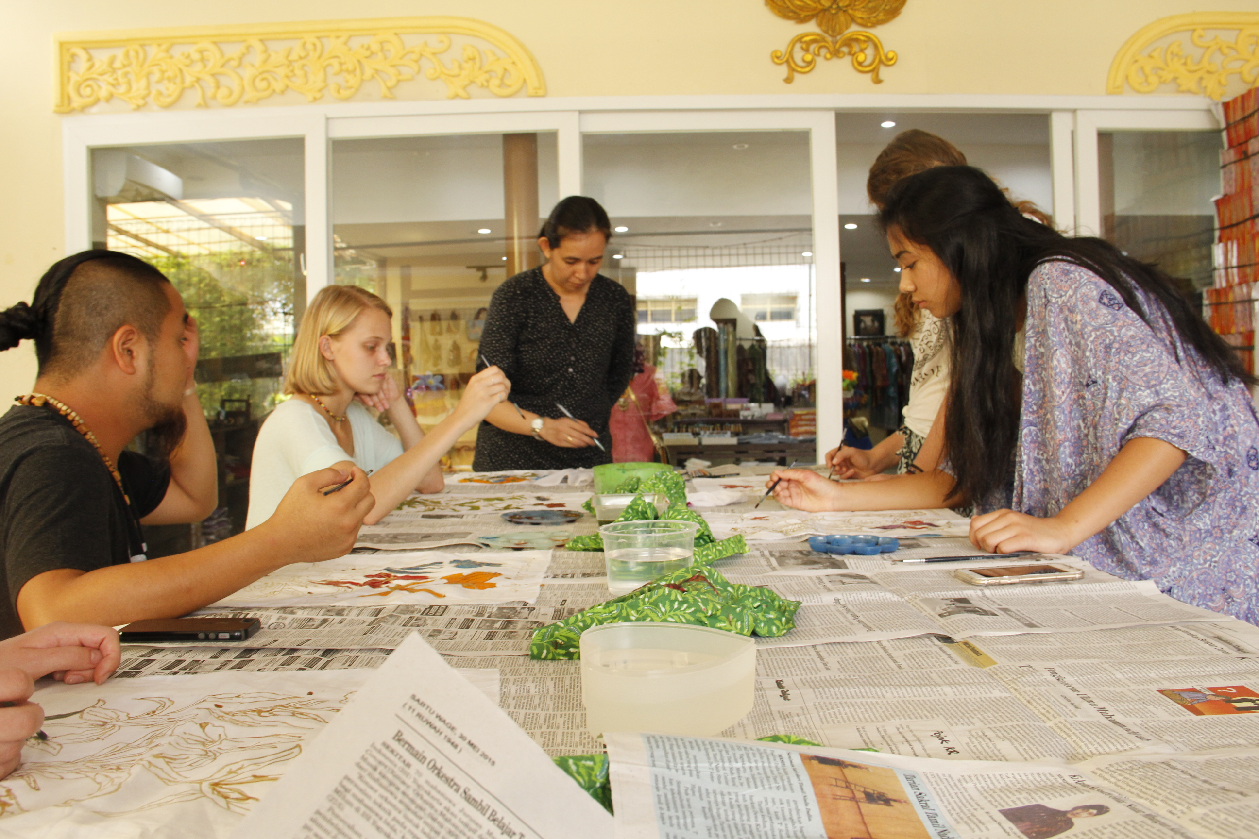 Indonesia Art Workshop