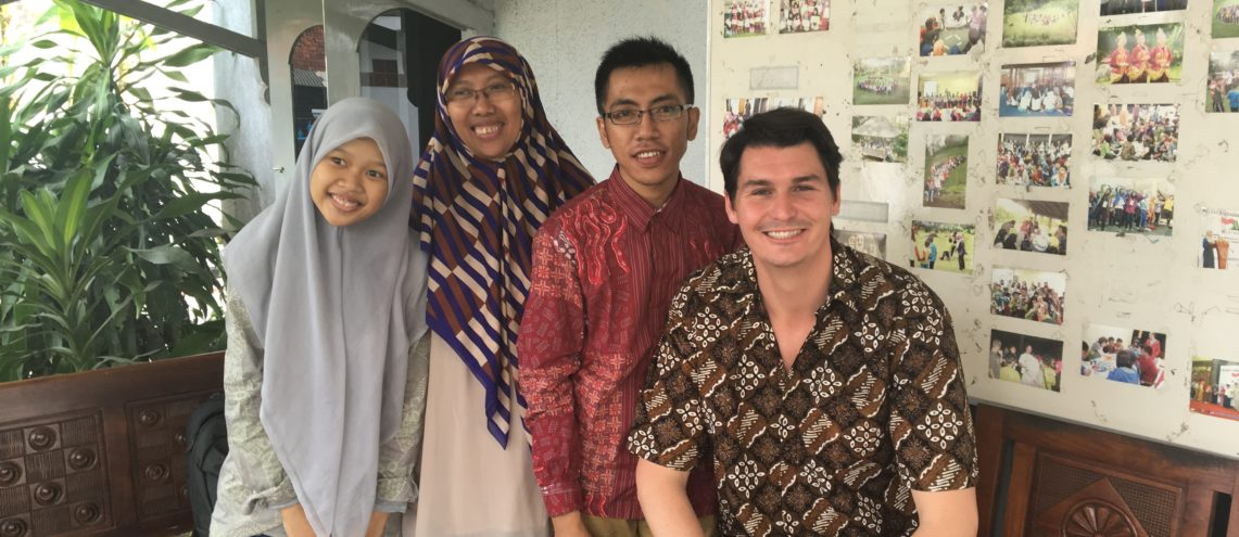 Sunhiyah with students